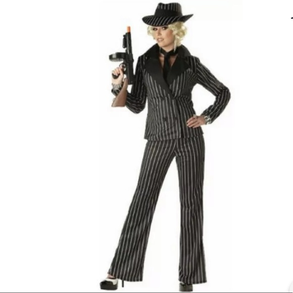 California Costumes Other - 🆕 LADY GANGSTER Women's Costume Pants Suit Jacket
